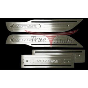 TOYOTA VELLFIRE SIDE STEEL PLATE WITH LED
