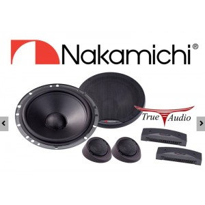 "NAKAMICHI NSE60 6.5"" 2 WAY COMPONENT SPEAKER SYSTEM (PAIR)"
