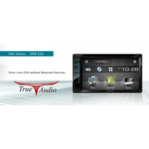 KENWOOD DDX-316  6.2 INCHI WVGA TOUCH SCREEN AV RECEIVER
