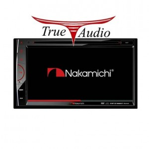 "NAKAMICHI NA-5502 6.8"" WVGA 2 DIN AV MULTI-MEDIA RECEIVER"