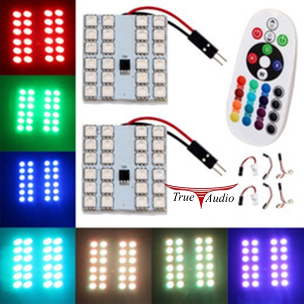 AUTO REMOTE CONTROLLED COLORFUL LED LAMP