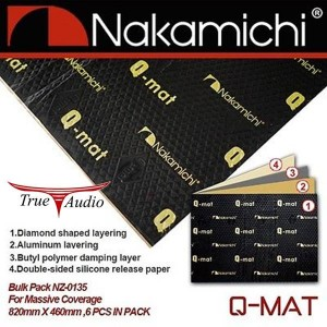 NAKAMICHI NZ-0135 Q-MAT SOUND PROOF