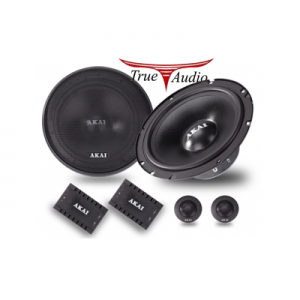 AKAI AK-SP-650C 6.5'' 2 WAY COMPONENT SPEAKER (PAIR)